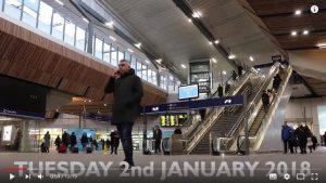 lodon bridge station 2018 300x169 - New London Bridge Station 2018
