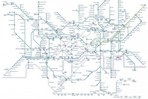 bicycles tube map 300x200 - Travelling on the underground with a bike?