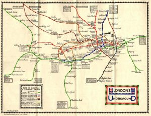 maps 8 300x230 - Remarkable old Tube maps show how London Underground network has changed over the past 100 years