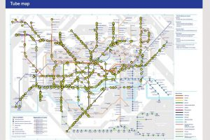 map1a 300x200 - The Tube map that shows exactly where all trains are at any time on the London Underground