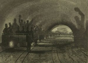 shadows 300x214 - Six Fascinating Images Of The Early London Underground
