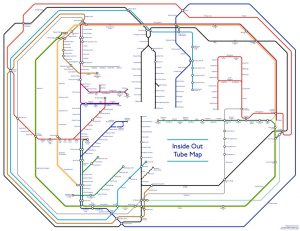 Inside Out London Underground Tube Map 300x231 - Londoner creates 'fascinating' - but ultimately completely 'pointless' - inside out Tube map
