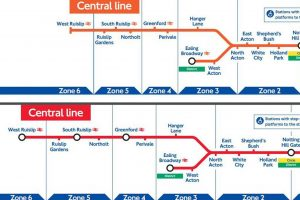 tfltubearchives0310 300x200 - Revealed: TfL Tube maps from the last two decades show how the London Underground lines have evolved