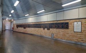 farringdon johnston font 01 600x367 300x184 - London Underground unveils a Johnston font memorial